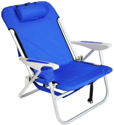 chaise pliante plage heavy duty sac à dos pliage chaise de plage avec rembourré