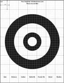 printable shooting target new calendar template site