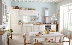 Cuisine blanche pourquoi la choisir marie claire maison for Kitchen colors with white cabinets with 4 murs papier peints