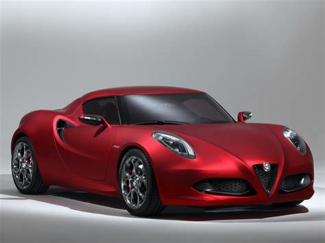 Alfa Romeo 4c Concept Wallpapers  Cool Cars Wallpaper