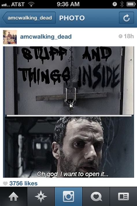 Walking Dead Stuff And Things Meme - 17 best images about stuff and things on pinterest rick and rick grimes memes and walking