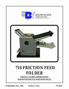 Baumfolder 714  Friction
