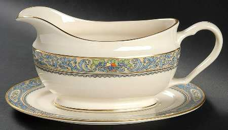 Lenox Autumn Gravy Boat by Lenox Autumn Newer Gold Backst At Replacements Ltd