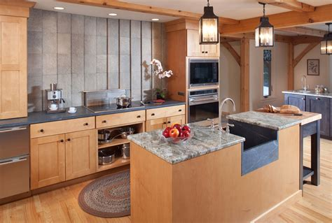 2015 kitchen design honorable mention post and beam