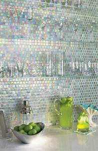 carrelage en verre mural obasinccom With carrelage adhesif salle de bain avec ciel étoilé led