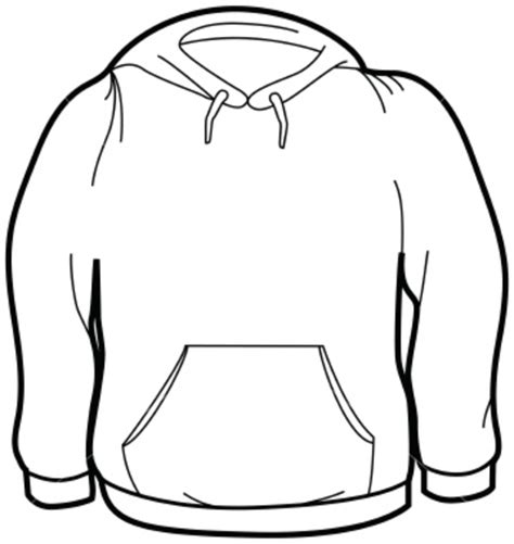 Hoodie Clipart Ist Size Sweatshirt Free Images At Clker
