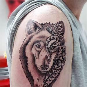 Tatouage Loup Geometrique : mymymagma tatoueuse le mans tatouage au mans ~ Melissatoandfro.com Idées de Décoration
