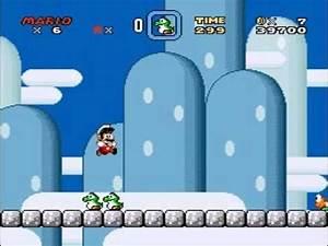 Super Mario World - Baby Yoshi Power Up Test - YouTube
