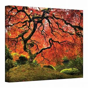 U0026 39  U0026 39 Japanese Tree U0026 39  U0026 39  Canvas Wall Art By John Black