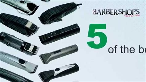 top professional hair clippers youtube