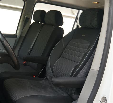 siege conducteur housses de siège vw t5 caravelle pour siège conducteur et