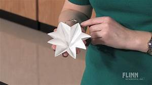 How to Make Fluted Filter Paper - Flinn Scientific - YouTube