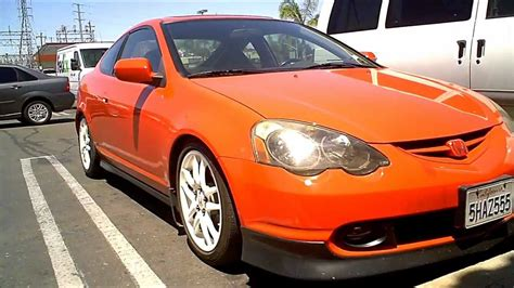 milano red acura rsx dc lowered   coilovers