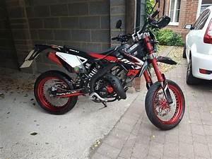 Rieju  Yamaha  Mrt1 50 Sm Trophy Supermoto Moped 50cc