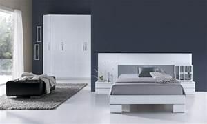 99 idees deco chambre a coucher en couleurs naturelles With chambre couleur bleu et gris