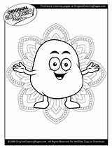Coloring Pages Potato Food Below Any sketch template