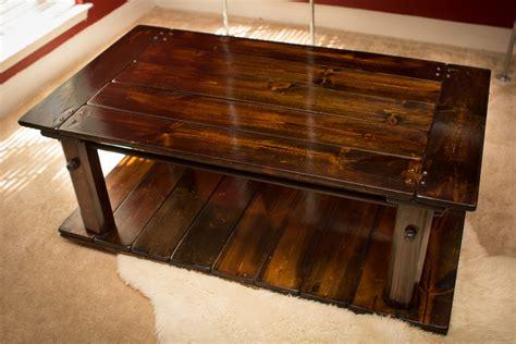 Industrial Rustic Coffee Table Industrial Furniture