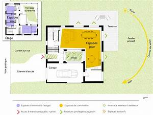 plan maison carree a etage ooreka With plan maison avec tour carree