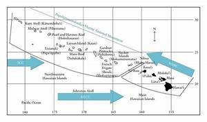 Map Of The Hawaiian Archipelago With Major Currents