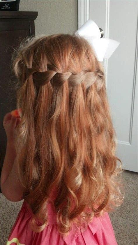 14 stunning waterfall french braids for girls pretty designs
