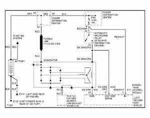 1994 Plymouth Sundance Wiring Diagram by Alternateur Hs Alternateur Pilot 233 Ou Normal Page 3