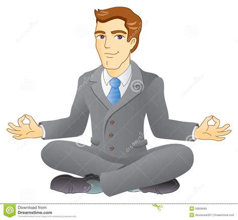 business meditation royalty  stock photo image