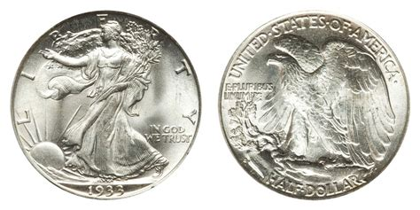 walking liberty  dollar coin  prices  info