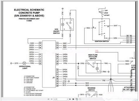 Bobcat Wiring Schematic by Bobcat Wiring Schematic Parts Wiring Diagram Images