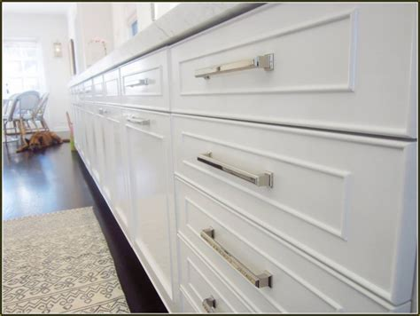 brushed nickel cabinet hardware reviews the homy design