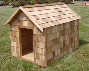 Wooden Outdoor Dog House Design - HomesCorner.Com