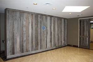 Finished with style the blue buffalo co for Barn siding interior walls