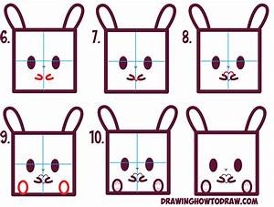 How to Draw Cute / Kawaii / Cartoon Baby Bunny Rabbit from ...