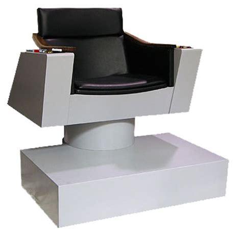 Trek Captains Chair Size by A Size Replica Of The Enterprise Captain S Chair