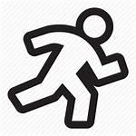 Icon Active Activity Runner Marathon Run Pedestrian