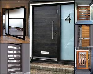 Contemporary Front Door Exterior Doors Modern Trends With ...