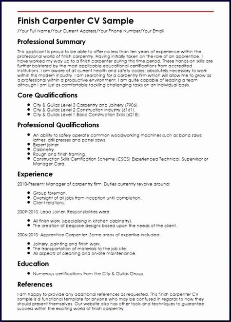 Exle Of Excellent Cv by 6 Excellent Resume Templates Free Exceltemplates