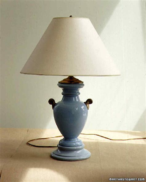 rewiring  lamp martha stewart