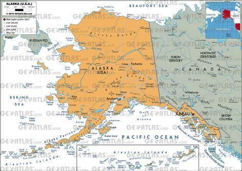 road map  canada  alaska  travel information
