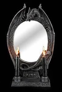 Spiegel Mit Kerzenhalter : gothic fantasy spiegel g nstig online kaufen ~ Frokenaadalensverden.com Haus und Dekorationen