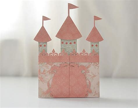 castle card svg file castle party invitation cricut