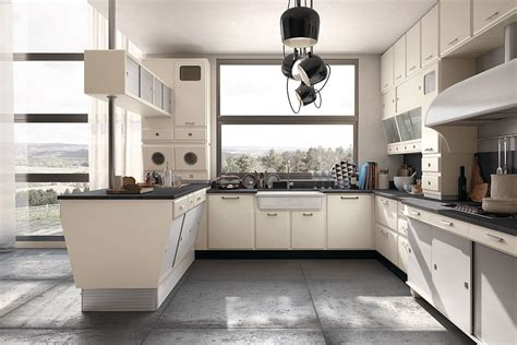 vintage kitchen offers  refreshing modern   fifties style