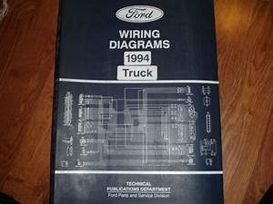 1994 Ford Explorer Suv Truck Electrical Wiring Diagram