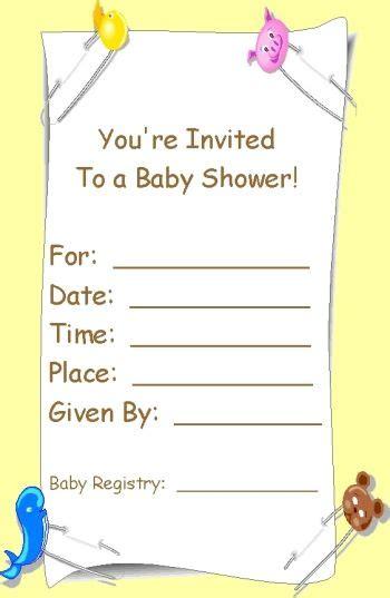 baby shower invitations printable baby shower invites