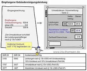Reverse Charge Rechnung Muster : iris thomsen inland leistung 13b ustg ~ Themetempest.com Abrechnung