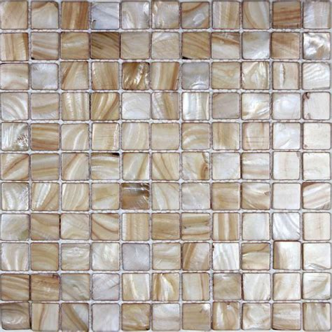 of pearl tile backsplash kitchen painted shell