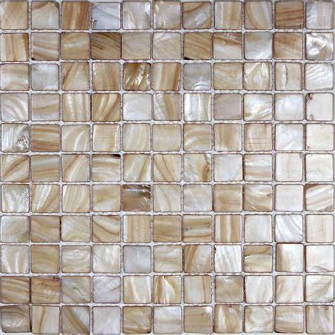 Kitchen Mosaic Tile Backsplash by Of Pearl Tile Backsplash Kitchen Painted Shell