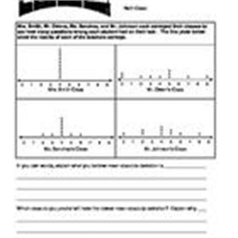 Grade 6  Two Mean Absolute Deviation Homeworks (with Answer Key)  Statistics, Worksheets And