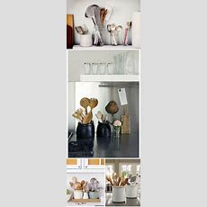 Best 25+ Kitchen Utensil Storage Ideas On Pinterest