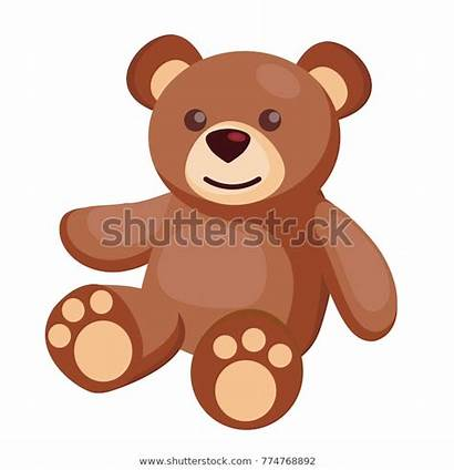 Teddy Bear Dell Toy Giocattolo Orsacchiotto Flat