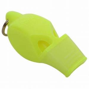 Fox 40 eclipse classic cmg Whistle with lanyard NEON